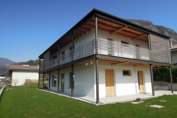 Realizzazione Casa in Legno Abitazione 2010_3 di diemmelegno