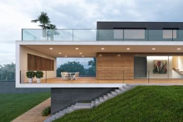 Modello Casa in Legno Casa in legno spettacolare di Progettolegno srl