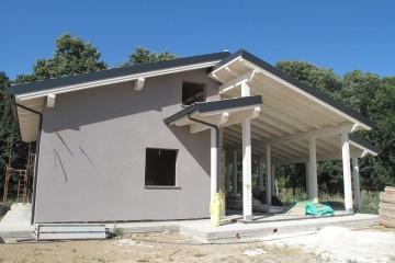 Realizzazione Casa in Legno Villa Delvec di casaecologica srl