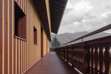 Realizzazione Sopraelevazione in Legno Villa Mayr di LignoAlp | Damiani-Holz&KO Spa