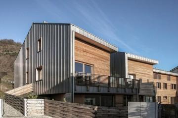 Realizzazione Condominio in Legno Il parco dei Gelsi di LignoAlp | Damiani-Holz&KO Spa