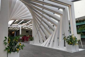 Modello Struttura ricettiva (hotel, villaggio) in Legno Gelateria di Arlia Strutture in Legno