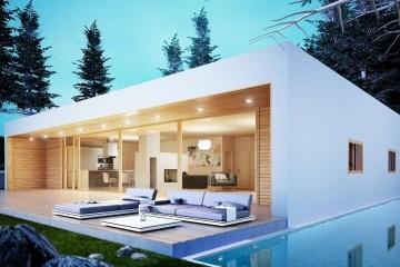 Modello Casa in Legno MODELLO 150 di NORGES HUS