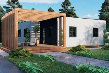 Modello Casa in Legno MODELLO 102 di NORGES HUS