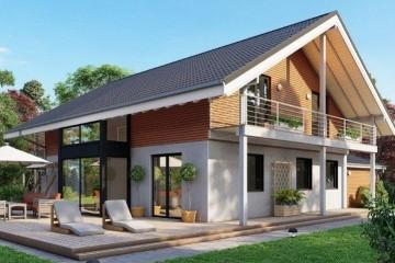 Modello Casa in Legno MODELLO 215 di NORGES HUS