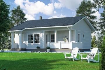 Modello Casa in Legno MODELLO 87 di NORGES HUS