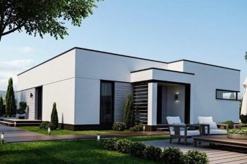 Modello Casa in Legno MODELLO 124 di NORGES HUS