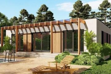 Modello Casa in Legno MODELLO 104 di NORGES HUS