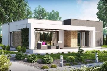 Modello Casa in Legno MODELLO 105 di NORGES HUS