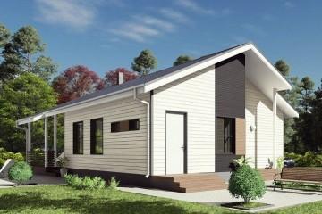 Modello Casa in Legno MODELLO 109 di NORGES HUS