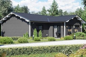 Modello Casa in Legno MODELLO 110 di NORGES HUS