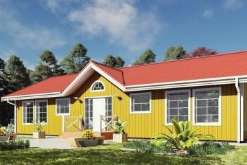 Modello Casa in Legno MODELLO 131 di NORGES HUS