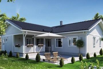 Modello Casa in Legno MODELLO 141 di NORGES HUS