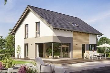 Modello Casa in Legno MODELLO 160 di NORGES HUS