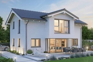 Modello Casa in Legno MODELLO 164.1 di NORGES HUS