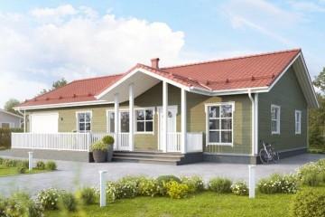Modello Casa in Legno MODELLO 167 di NORGES HUS