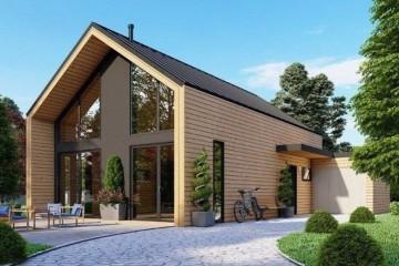 Modello Casa in Legno MODELLO 170 di NORGES HUS