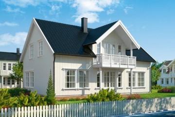 Modello Casa in Legno MODELLO 202 di NORGES HUS