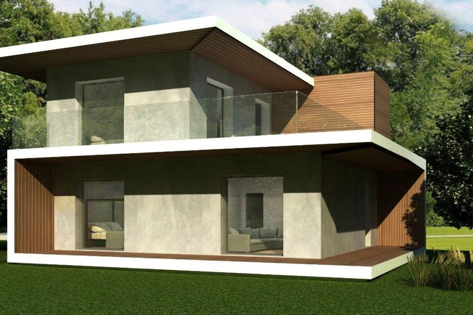 Casa in Legno in stile Moderno: Casa Misinto