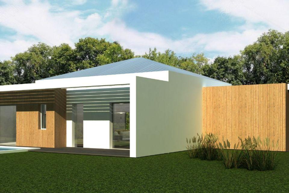 Casa in Legno in stile Moderno: Casa Enico