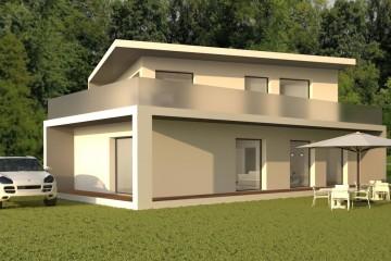 Modello Casa in Legno Casa Bologna di OneHaus