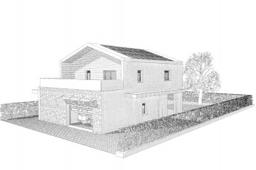 Modello Casa in Legno Villa TK02 di Wood planner