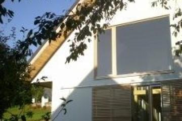 Realizzazione Casa in Legno Casa privata su due piani molto solare di RIKO-HISE srl - Arch. Daniele Bonzi
