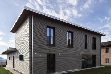 Realizzazione Casa in Legno Casa passiva di RIKO-HISE srl - Arch. Daniele Bonzi