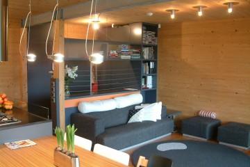 Realizzazione Casa in Legno Casa moderna di RIKO-HISE srl - Arch. Daniele Bonzi