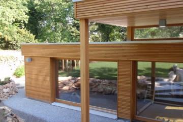 Realizzazione Casa in Legno Casa ad un piano di RIKO-HISE srl - Arch. Daniele Bonzi