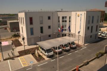 Realizzazione Edificio Pubblico (scuola, chiesa) in Legno RSA  - LA MISERICORDIA - struttura privata di RIKO-HISE srl - Arch. Daniele Bonzi