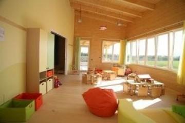 Realizzazione Edificio Pubblico (scuola, chiesa) in Legno Scuola Materna  - Modena di RIKO-HISE srl - Arch. Daniele Bonzi