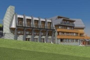 Realizzazione Struttura ricettiva (hotel, villaggio) in Legno HOTEL di RIKO-HISE srl - Arch. Daniele Bonzi