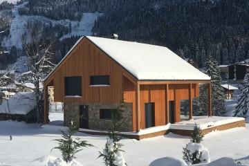 Realizzazione Casa in Legno Casa alpina di RIKO-HISE srl - Arch. Daniele Bonzi