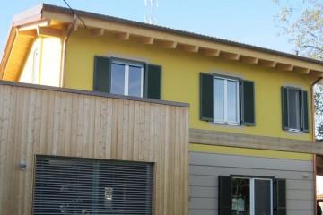 Realizzazione Casa in Legno Casa Lodi di RIKO-HISE srl - Arch. Daniele Bonzi