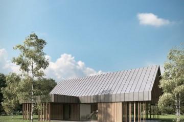Modello Casa in Legno CASA  MILA  - progetto Arch. MIHA NOVINA di RIKO-HISE srl - Arch. Daniele Bonzi