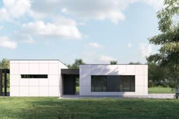Modello Casa in Legno CASA MINIMA  progetto e concetto  MELITA TOTH di RIKO-HISE srl - Arch. Daniele Bonzi