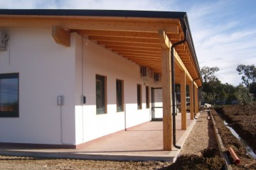 Realizzazione Casa in Legno Casa Latina di Lo Scoiattolo