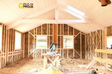 Realizzazione Casa in Legno Casa di paglia e canapa di Filo di Paglia architettura naturale