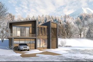 Modello Casa in Legno VILLA NISEKO di Evho Ptd Ltd: