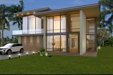 Modello Casa in Legno VILLA HONOLULU di Evho Ptd Ltd:
