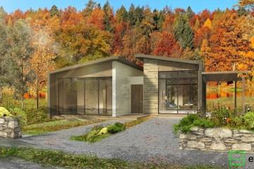 Modello Casa in Legno VILLA NOVA SCOTIA di Evho Ptd Ltd: