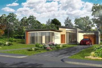 Modello Casa in Legno VILLA ESTE di Evho Ptd Ltd: