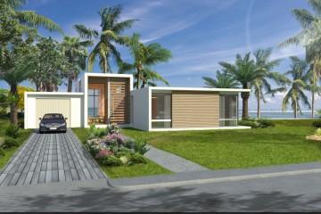 Modello Casa in Legno VILLA MIAMI di Evho Ptd Ltd: