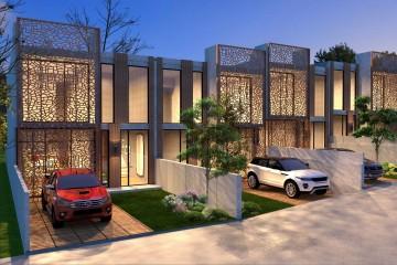 Modello Casa in Legno DUPLEX VALENCIA di Evho Pte Ltd: