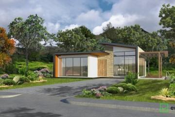 Modello Casa in Legno VILLA VINCI di Evho Ptd Ltd: