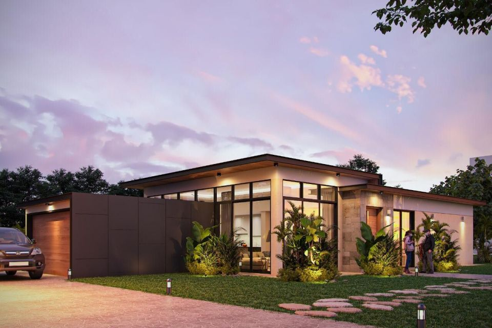 Casa in Legno in stile Moderno: VILLA VINCI