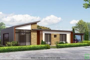 Modello Casa in Legno VILLA CASTIONE di Evho Ptd Ltd: