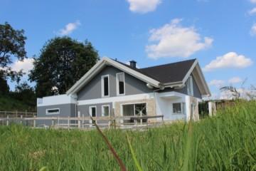 Realizzazione Casa in Legno Villetta singola su due piani in Rivalba di Elite Ecobuilding Srl
