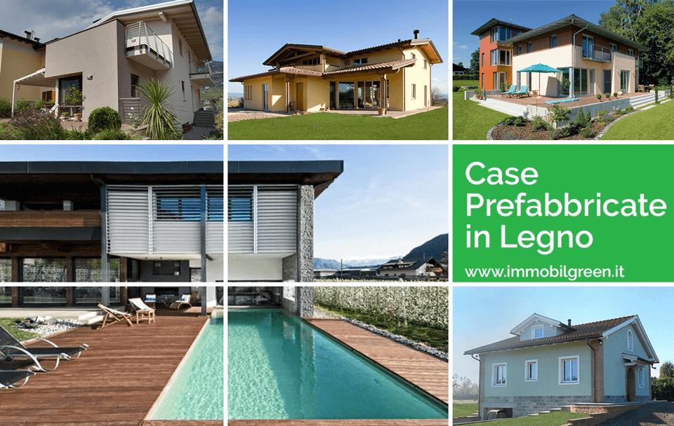 Modelli di case in legno e villette prefabbricate in legno for Migliori costruttori case in legno